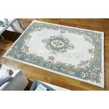 chinese aubusson wool rugs royal traditional rug cream green x cm 6 2 1