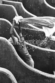black man washing clothes. Brilliant Black Man Washing Clothes At Dhobi Ghat Banganga Mumbai Maharashtra India  1972 Reproduction Photographique Sur AllPostersfr For Black H