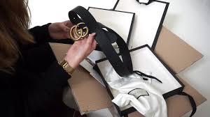 gucci 3cm belt. unboxing - gucci gg marmont belt (4cm) gucci 3cm belt