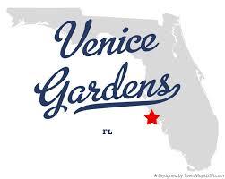 map of venice gardens florida fl