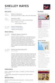 Graduate Research Assistant Resume Samples - Visualcv Resume Samples ...