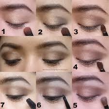 how to apply basic eye makeup
