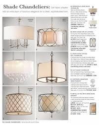shade drum pendant chandelier brushed nickel kitchen ideas sears chandeliers antique rectangular new 4lite silk silver