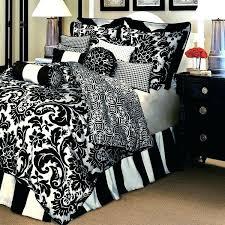 black white bedding quilt set small size of black bedding sets red reversible and white duvet