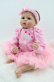 child size love doll handmade reborn baby doll newborn baby clothes set 22 vinyl soft