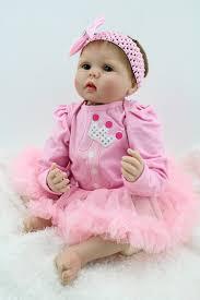 child size love doll handmade reborn baby doll newborn baby clothes set 22 vinyl soft