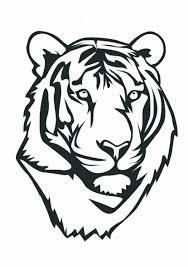 Dessin De Coloriage Tigre Imprimer Cp25674
