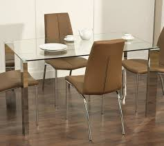 modern glass dining room sets. Modern Glass Dining Tables With Chairs Room Sets