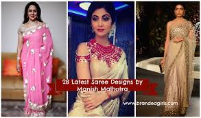 Manish Malhotra Designer Blouse Collection Latest Manish Malhotra Sarees 2019 Collection Top 28 Sarees