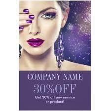 fashion purple nails beauty salon makeup artist flyer professional makeup artist flyer template