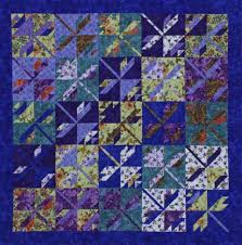 Quilting Color Trend: Purple | AllPeopleQuilt.com & On the Fly 10-Inch Block Adamdwight.com