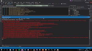 Microsoft Entityframeworkcore Design Code First Migration In Entity Framework Core Error Stack