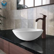 sinks bowl sinks for bathroom glass vessel vigo industriens announces the new phoenix stone glass