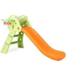 Kids <b>Plastic</b> Cute Cartoon <b>Slide</b> Indoor Climber Slideway Toy with ...