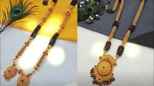 Ganthan Design In Gold New Treditional Maharashtrian Gold Thushi Ganthan Designs