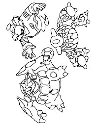 Coloring Pages Rhyperior