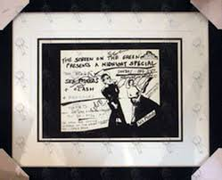 pistols custom framed cartoon print 1