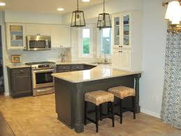 Painting Over Kitchen Cabinets Cabinets Drawer Grey Glaze Over Dark Base Cabinet White Kitchen