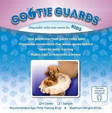 Disposable Toilet Amazoncom Cootie Guards 4 Pack Disposable Toilet Seat