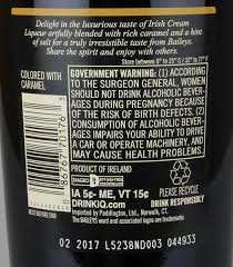 bailey s salted caramel irish cream liqueur prev next description nutrition facts ings