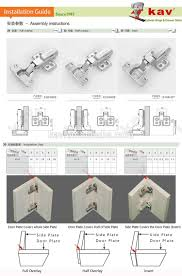 Kitchen Cabinet Hydraulic Hinge Wholesale K3drh07 Furniture Fittings Offset Hydraulic 3d