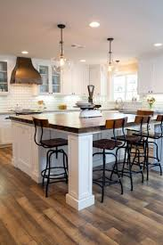 Island Kitchen With Table Attached Best