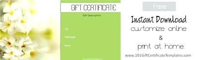 babysitting gift certificate template free free pedicure gift certificate template updrill co