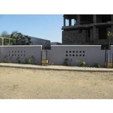 Small Picture Precast Concrete Compound Walls Royal Cement Works Coimbatore