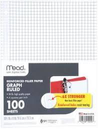 Buy Mead Reinforced Filler Paper Mead National Ischolar Uae