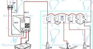 ups & inverter wiring diagram for one room office Inverter House Wiring Diagram Inverter House Wiring Diagram #4 inverter house wiring diagram