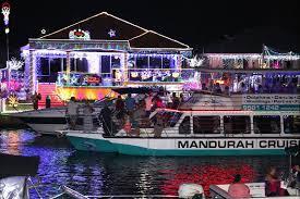 Mandurah Christmas Lights Boat Hire Mandurah Canals Christmas Lights Phenomenon Event