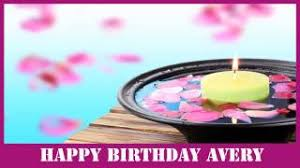 Happy Birthday Avery Birthday Avery