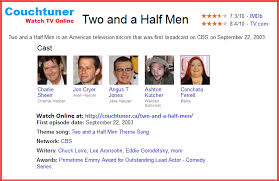 couchtuner provide a large collection of tv season episodes watch couchtuner provide a large collection of tv season episodes watch two and a half men
