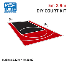<b>Free</b> Throw Pro DIY Basketball Court - <b>MSF</b> PRO™️ Surface   <b>MSF</b> ...