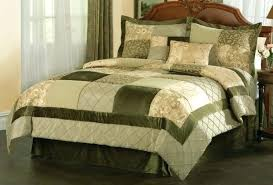 brown and green comforter set queen bedding sets garden in king also blue