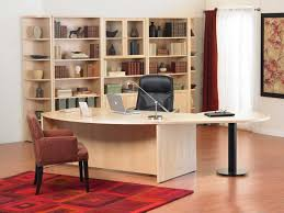 big beautiful modern office photo. beautiful home office furniture ideas with creative design wood table black leather swivel chair and notebook big cabinet for stuffs modern photo i