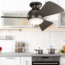 Kitchen Ceiling Fans Best For Air Circulation Over Tables Stoves Gorgeous Ceiling Fan For Kitchen