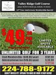 Valley Ridge Golf Course, 18 hole public golf course in Antioch.