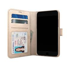 skech polo book wallet cover detachable case stand for iphone 8 plus iphone 7 plus plus chagne