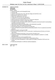 Sample Resume For Merchandiser Job Description Merchandiser Job Description Resume Resume For Study 52