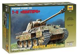 "<b>Сборная модель ZVEZDA Немецкий</b> средний танк Т-V ""Пантера ..."