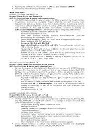 Consultant Resume Example Amazing Sap Mm Consultant Resume Example Brilliant Sample On Senior Samples