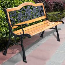 garden bench and seat pads wooden park bench outdoor backless bench chunky wooden garden furniture