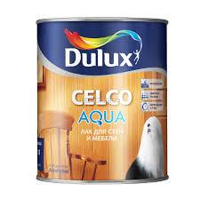 <b>Лак</b> для <b>стен и мебели</b> Dulux Celco Aqua 10 5134959, матовый, 1 л