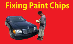 fix paint chips on cars easy diy tutorial chip repair tips