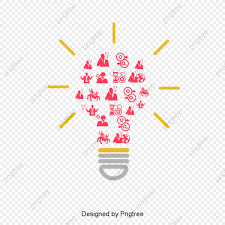 Light Tree Ppt Ppt Icon Team Cooperation Creative Light Bulb Ppt Icon