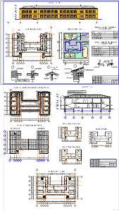 Курсовые и дипломные проекты общественное здание скачать dwg  Курсовой проект Детский сад школа на 200 мест 54 0 х 31