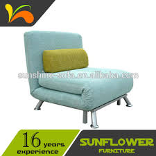 single sofa bed. Metal Frame Folding Single Sofa Bed Chair