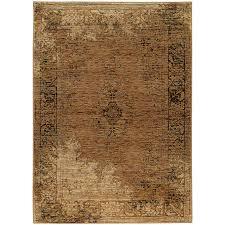 oriental weavers andorra 6845d gold brown area rug