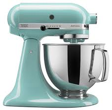 Kitchen Aid Ice Blue Artisan Kitchen Aid 5 Quart Stand Mixers Aqua Sky Color